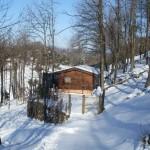 Club House con la neve