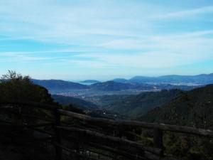 Vista sulla Palmaria dalla scuderia