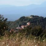 Ponzanello dalla Via Francigena
